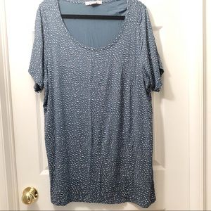 Penningtons Shirt Tunic sz 1X